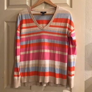 Gap light-weigh sweater. Happy colors. Small
